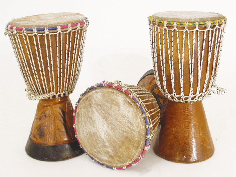 The history of the usage of drums as instruments